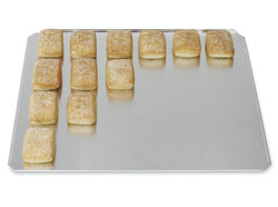 3490681 | Baking plate Metos GN2/1, aluminium, long side bended |