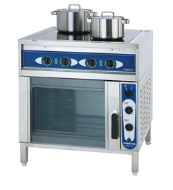 3752020 | Ceramic range with roasting oven  Metos  Ardox C4/220 400V3N |