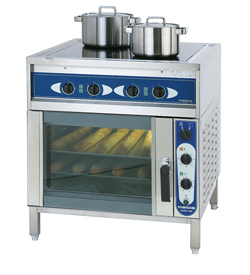 3752021 | Ceramic range with convection oven  Metos  Ardox C4/240 400V3N~ |
