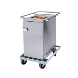 3756599 | Food transport trolley Metos Termia 1000 CLN with 125 mm wheels |