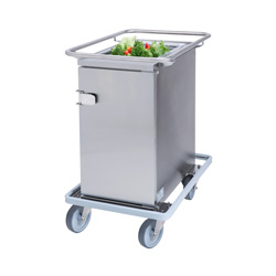 3756693 | Food transport trolley Metos Termia 1000 CLN with 160 mm wheels |