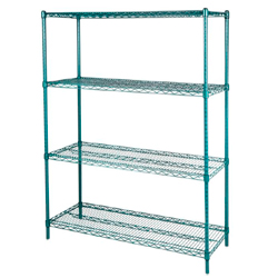 4001812 | Wire shelving Metos Plano 46x122x180 cm |