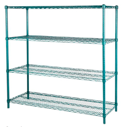 4001818 | Wire shelving Metos Plano 46x183x180 cm |