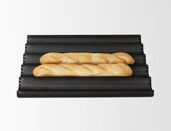 4131258 | Baguette plate Metos 5 groov non-stick 400x600 |