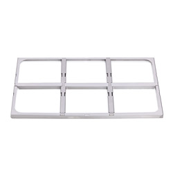 4136776 | GN-frame  Metos  Proff GN1/6 and GN1/3 for drawers |