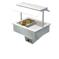 4138878 | Bain Marie Metos Drop-In BM 800 Proff US-2L |