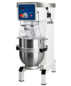4143114 | Mixer Metos Bear AR40 VL-1 Pizza modell with manual control and attachment drive |