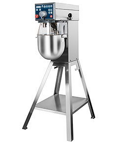 4143620 | Mixer Metos Bear RN10 VL-2, floor model with attachment drive |
