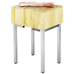 4144589 | Meat block, birch Metos KTL 65 |