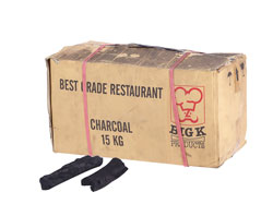 4149950 | Charcoal box 15 kg Metos Rest Grade Charcoal