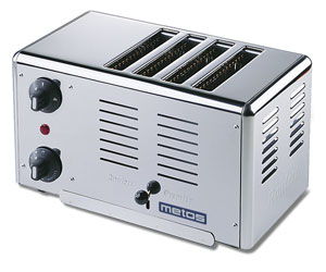 4153008 | Toaster Metos Rowlett Premier 4 for four bread slices |