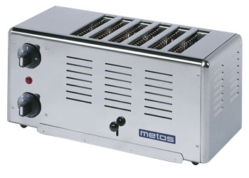 4153103 | Toaster Metos Rowlett Premier 6 for six bread slices |