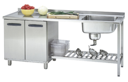4180490 | Sink table  Metos  Proff 2000*650*900 mm |