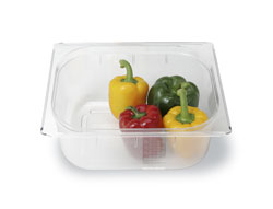 4181319 | GN container Metos GN1/2-150, plastic, transparent |