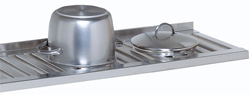 4188378 | Grid shelf  Metos , stainless steel 1380x400mm |