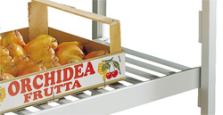 4201325 | Grid shelf Metos, aluminum 800 * 500 mm |