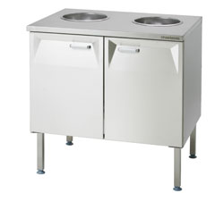 4208465 | Biowastecupboard  Metos  LBJK-2, 2x30l/240mm |