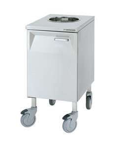 4208472 | Bio waste trolley  Metos  LBJV-1 (30l/240mm) |