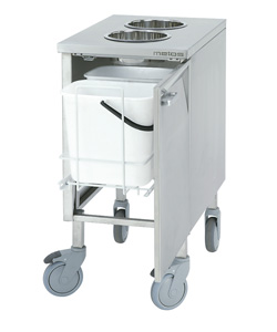 4208507 | Biowastetrolley 2 x 10l  Metos  LBJVM-2 2x10l |