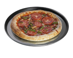 4215311 | Rounded pizza tray Pizza Dish, Metos System Rational |