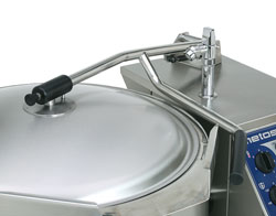 4215356 | Hinged lid for kettle  Metos  Viking 80-100 |