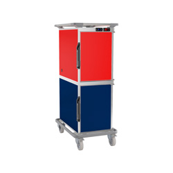 4216540 | Food transport trolley Metos Thermobox CF180 ZCF (6+6) |