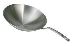 4230019 | Wok pan with handle for Metos Wok-Line and Flex |