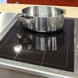 Drop-in induction ranges
