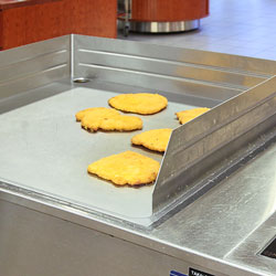 Drop-in induction griddles