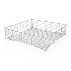 4235016 | Basket Metos, plastic coated stainless steel 500 x 500 x 115 |
