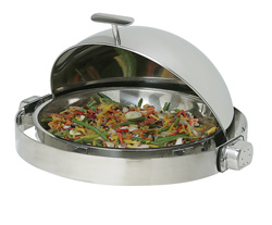 4239010 | DI round chafing dish Metos RDICDE |
