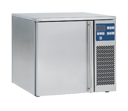 Blast chiller and shock freezer cabinets