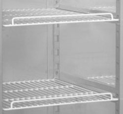 4249166 | White coated grid shelf for Metos More 660 cabinets |