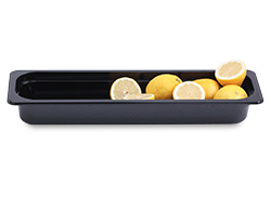4281042 | Plastic container Metos GN2/4-65, black |