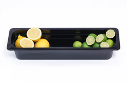 4281043 | Plastic container Metos GN2/4-100, black |