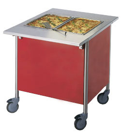 4309820 | Warm Serving Trolley Metos Corona BM 800 |
