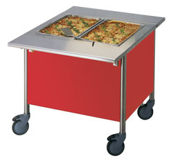 4309824 | Warm Serving Trolley Metos Corona BM 800/750 |