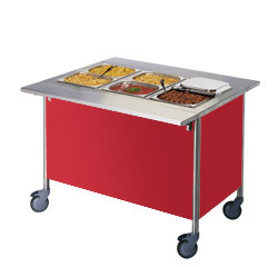 4309828 | Warm Serving Trolley Metos Corona BM 1200 |