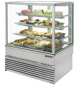 4310270 | Bakery glass display Metos Georgia Squa C 1000 |
