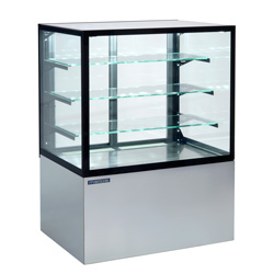 4310422 | Bakery glass display Metos Cube II 1000, waiter service |
