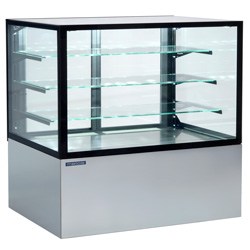 4310424 | Bakery glass display Metos Cube II 1500, waiter service |