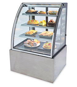 Bakery glass displays