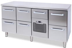 4321015S | Beverage Drawer Classic NT1600-BO2x2-MBO-BO2 without locks |