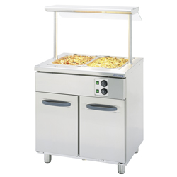 4321608 | Bain marie + shelf  Metos  Proff2 BM800-2xTDR-US1H |