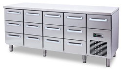 4334009S | Cold drawer Metos Classic NT-2000-GN3-GN3-GN3-GN3-MU |