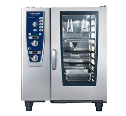 4342180 | Combi steamer Metos CombiMaster Plus 101/8 HS BAKE with grid |