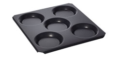 4342308 | Portion tray Metos MultiBaker GN2/3 with five moulds |