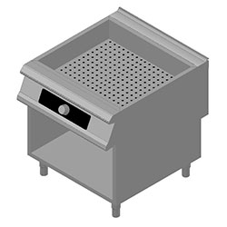 4343042 | Bain-marie Metos Diamante Touch DT94/10CBE with open cupboar |