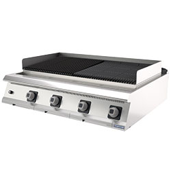 4343528 | Barbeque grill Metos Diamante D96/10TGG table top model |