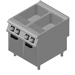 4343580 | Pasta-cooker Metos Diamante D94/10CPE with two 40 litres bas |